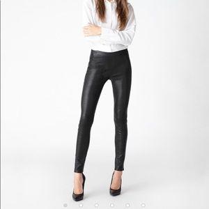 J. Brand Lamb Leather Leggings Size L NWT